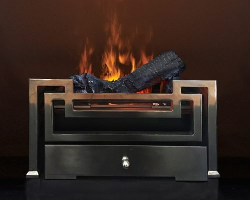 Electric Fire Basket - Fibonacci
