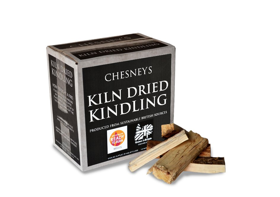 box of kiln dried kindling