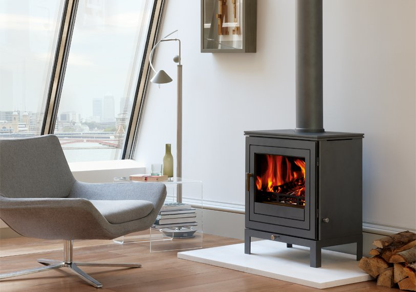 Contemporary design, Multi-Fuel Stoves: How To Design A Contemporary Space