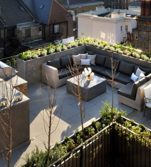 , Chelsea Roof Terrace, London SW3