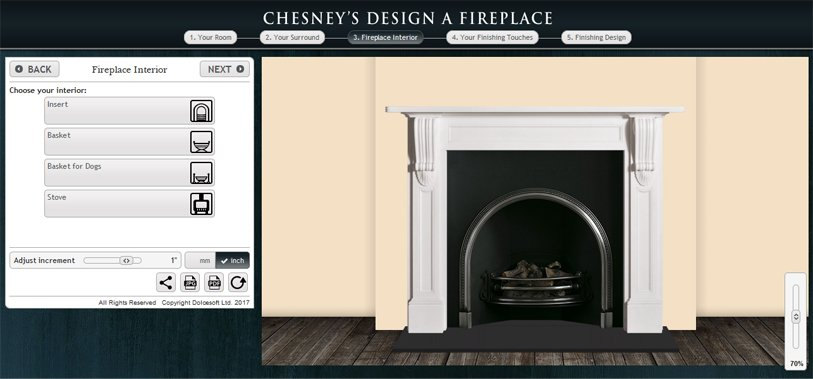 , Design a fireplace