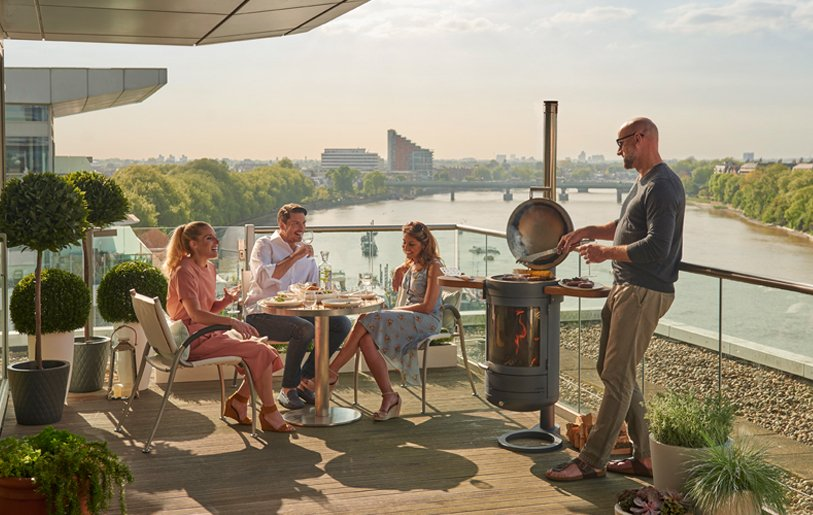 , Outdoor kitchens: how to create the perfect eating and heating experience