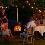 outdoor heating, Gas patio heater or wood-burner? Outdoor heating considerations