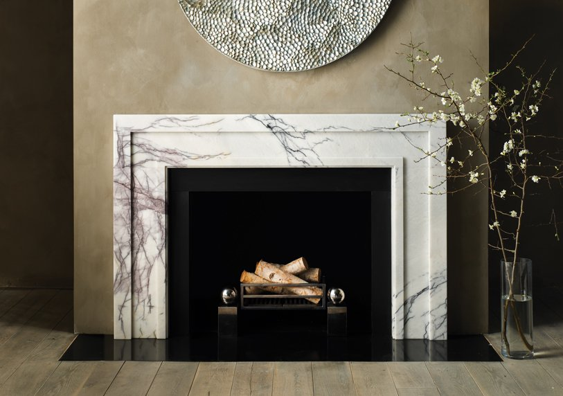 Bespoke Fireplaces: Special materials