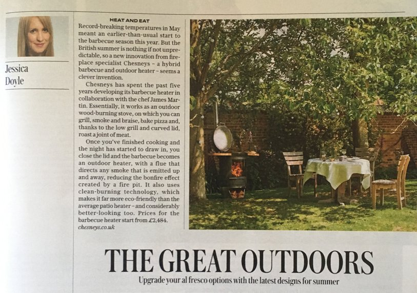 Chesneys HEAT, Chesneys HEAT: The Telegraph Magazine