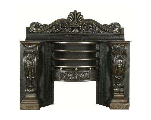Cast Iron Antique Fireplaces