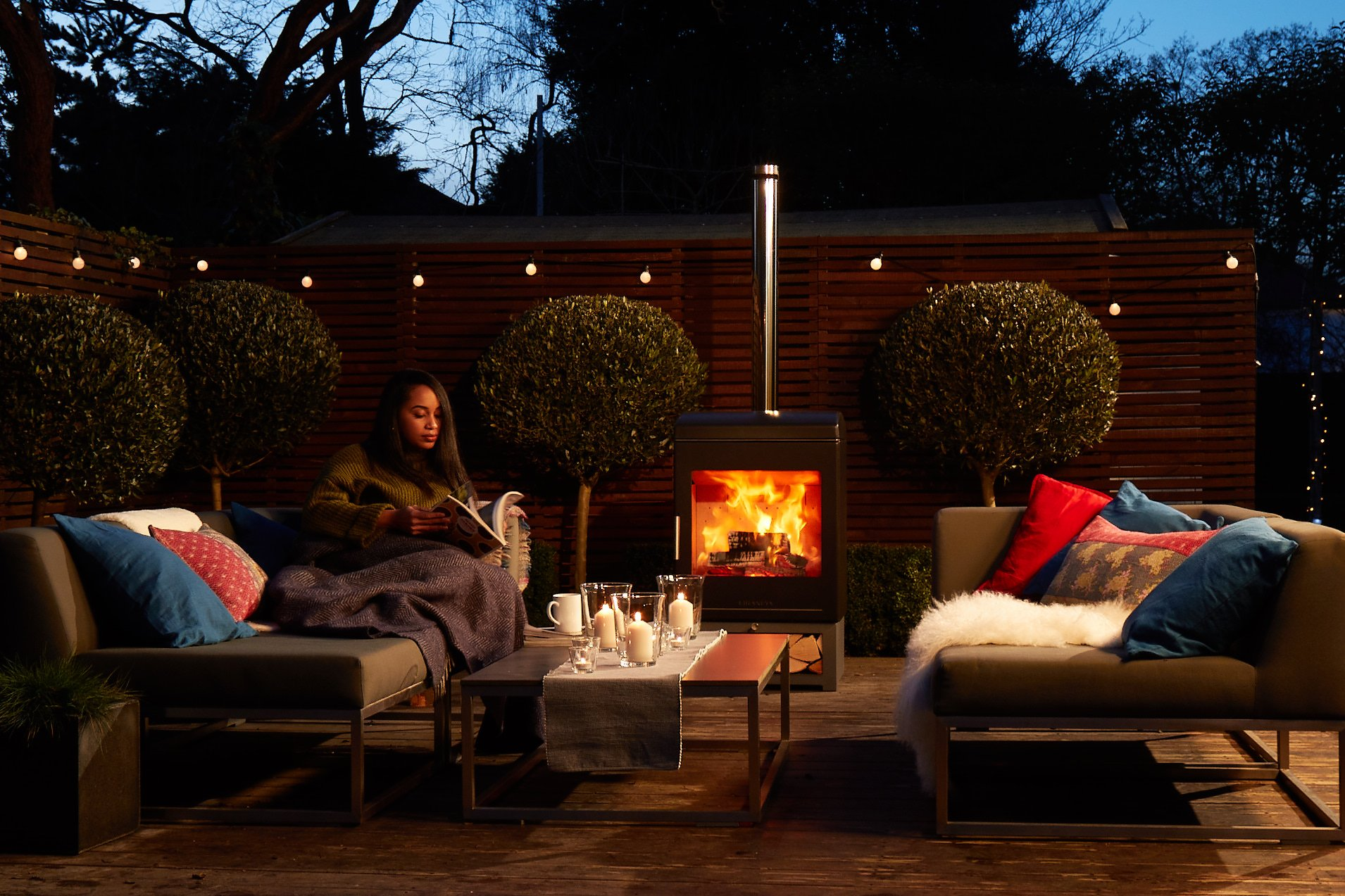 Hygge, Hygge and Lagom gardens: bringing the cosy night in, outside