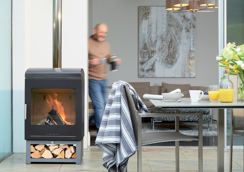 , Gas patio heater or wood-burner? Outdoor heating considerations
