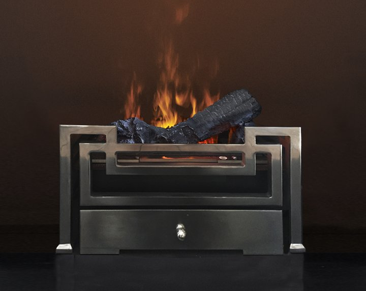 Outdoor Living, Olympus Electric Fire Baskets