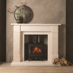 , Perfect your Scandi living room with a wood burning stove